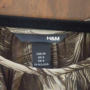 H&M Tops - H&M sheer top